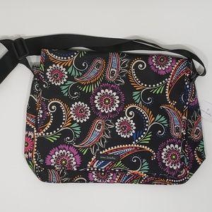 NWT Vera Bradley Messenger Bag in Bandana Swirl